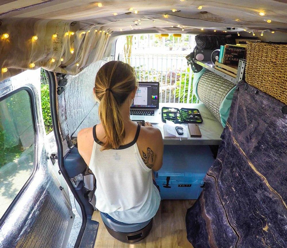 wifi on the road karma go tiny van travels