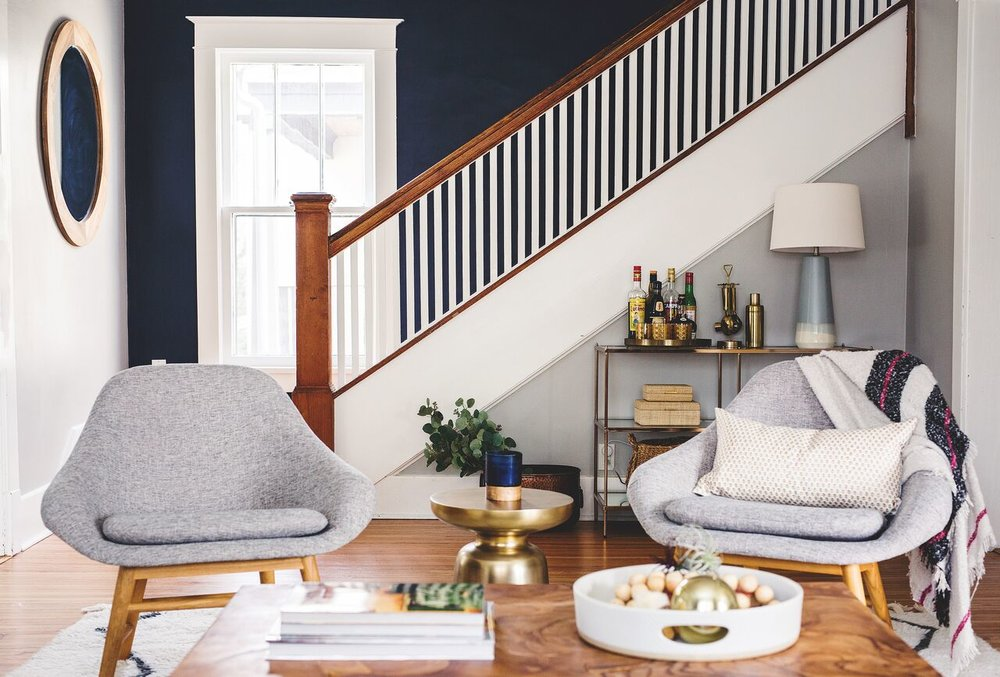 Formal Living Room Design — PHILLIPS+ GILLIGAN INTERIORS
