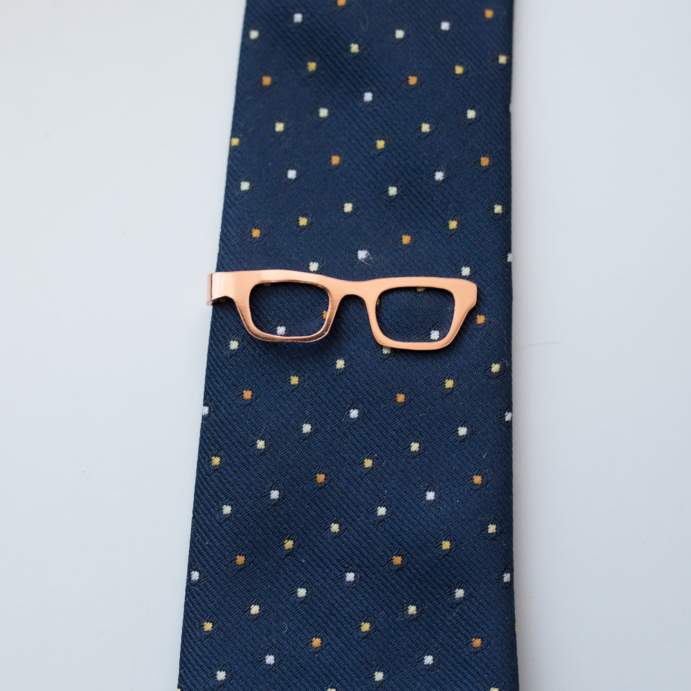 Eye Glasses Tie Bar