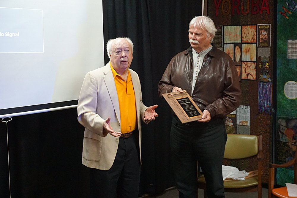 Recognition for peace activism -                                      The Peace Museum has a small but loyal group of volunteers