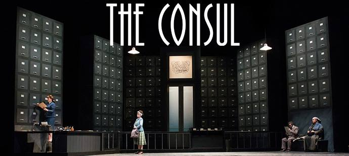 Gian Carlo Menotti's THE CONSUL will be performed by the Dayton Opera on October 20 and 22nd at the Schuster Performing Arts Center in downtown Dayton. Tickets can be purchased online at DaytonPerformingArts.org or by phone at (888)228-3630.