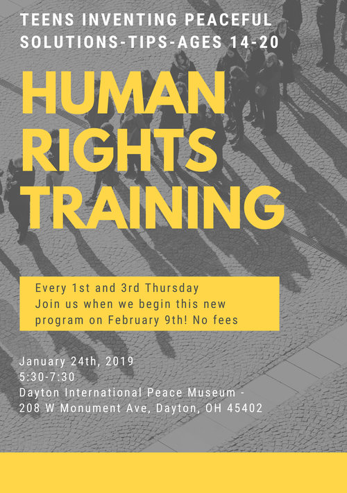 Human Rights Training @ Dayton International Peace Museum | Dayton | Ohio | United States
