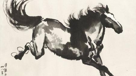 painting by Xu Beihong