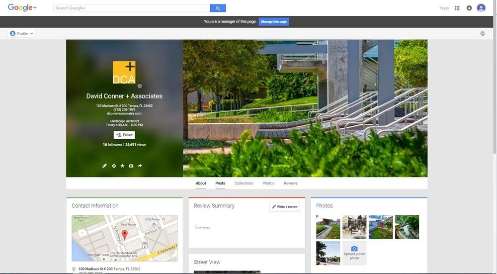 DCA Google plus.JPG