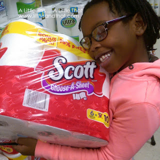 scott choose a sheet paper towels