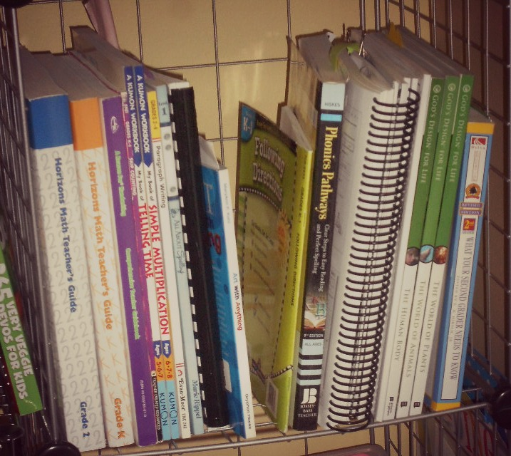 Curriculum selections for grades K and 2