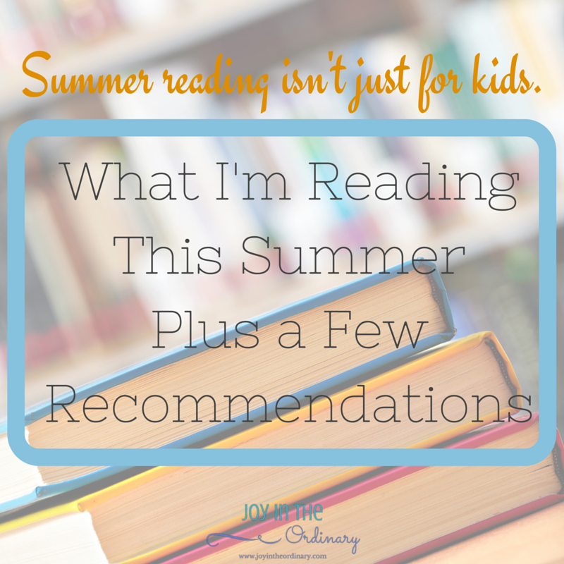 Summer reading for adults