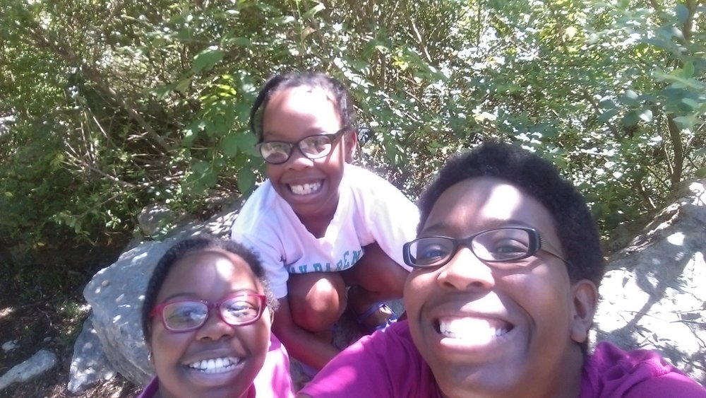 Latonya and her girls