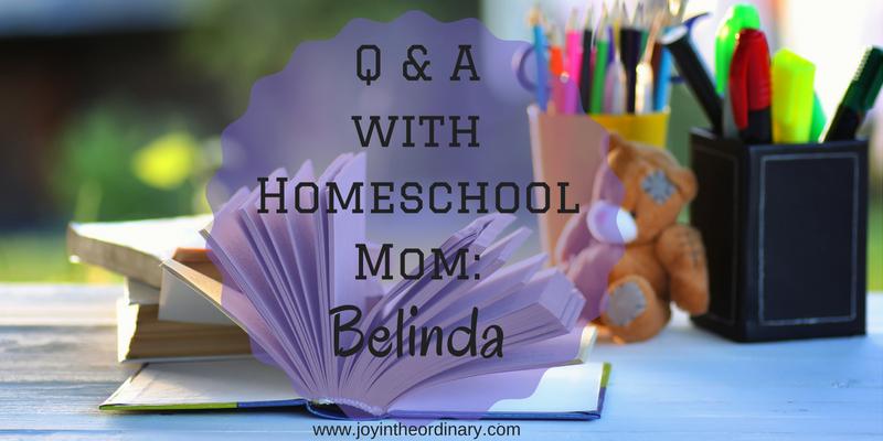 African American Homeschool Mom Interview with Belinda