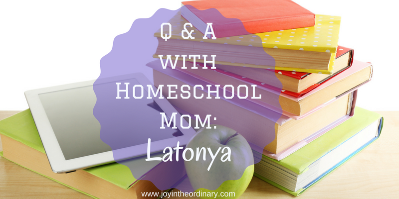 African American Homeschool Mom Interview with Latonya Mo