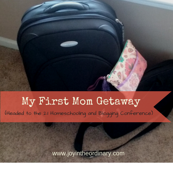 A homeschool's mom first getaway to a blogging conference