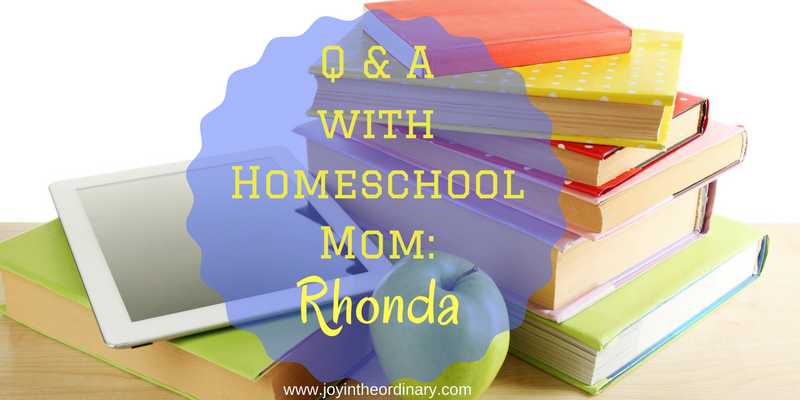 Q and A with Homeschool Mom Rhonda McKnight