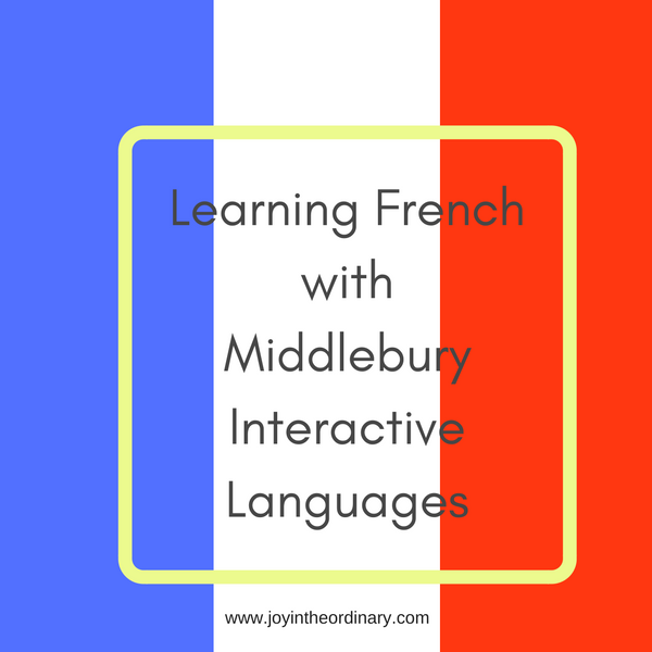 French with Middlebury Interactive Languages