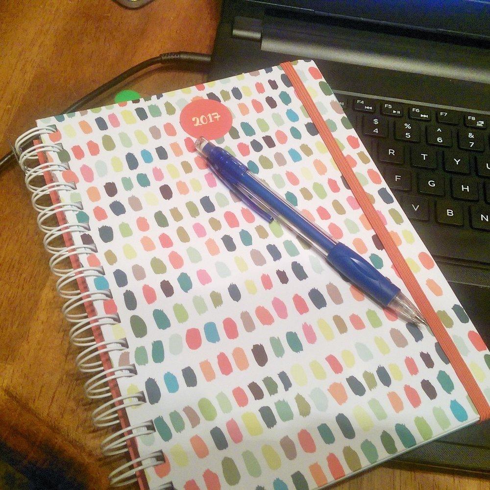 "My ""idea"" planner"