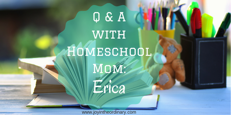 Homeschool questions answered by Erica from Gra8ful8