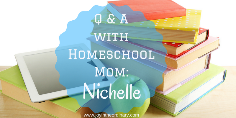 homeschool mom interview