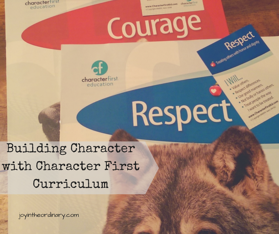 Character curriculum for homeschools and school