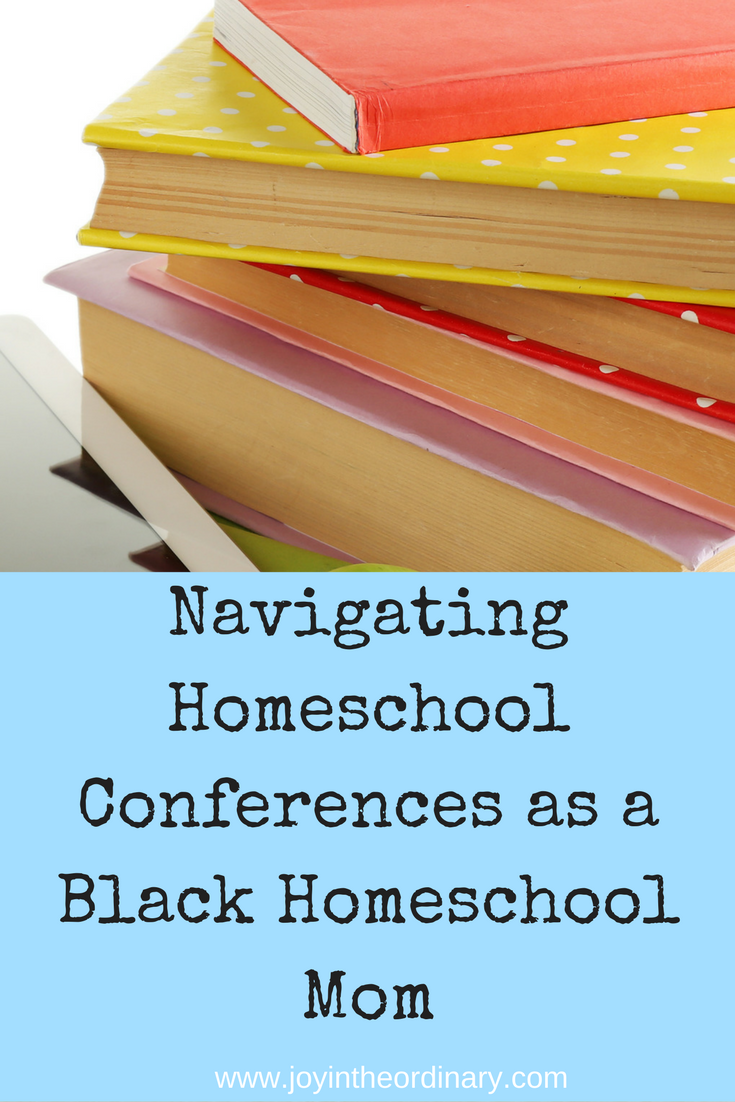 black mom at homeschool convention