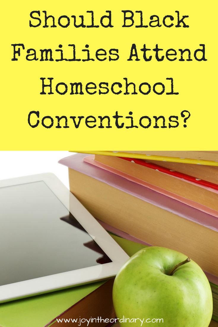attending homeschool conventions as a Black family