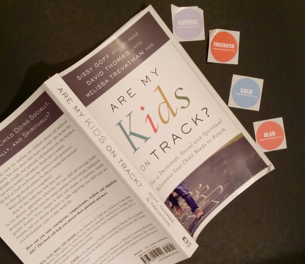 Are Kids On Track?  Parenting book focused on girls and boys emotional, spiritual, and social needs.