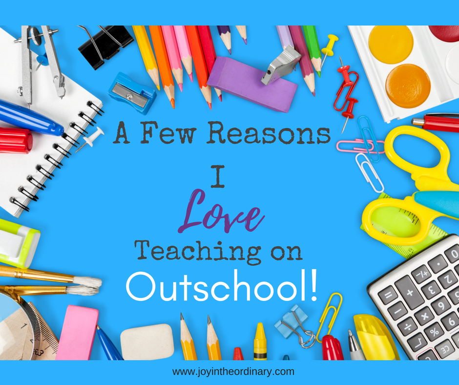 Why I love teaching on Outschool former public school teacher and homeschool mom
