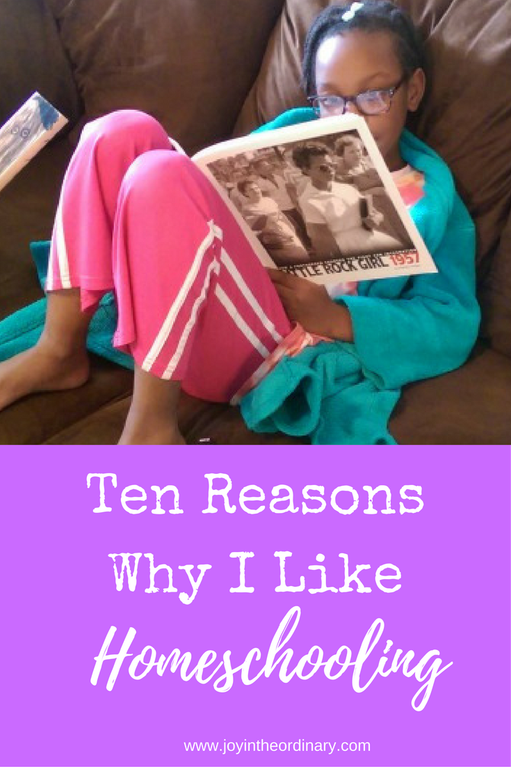 Ten Reasons I Like Homeschoolingfrom a Ten-Year-Old perspective