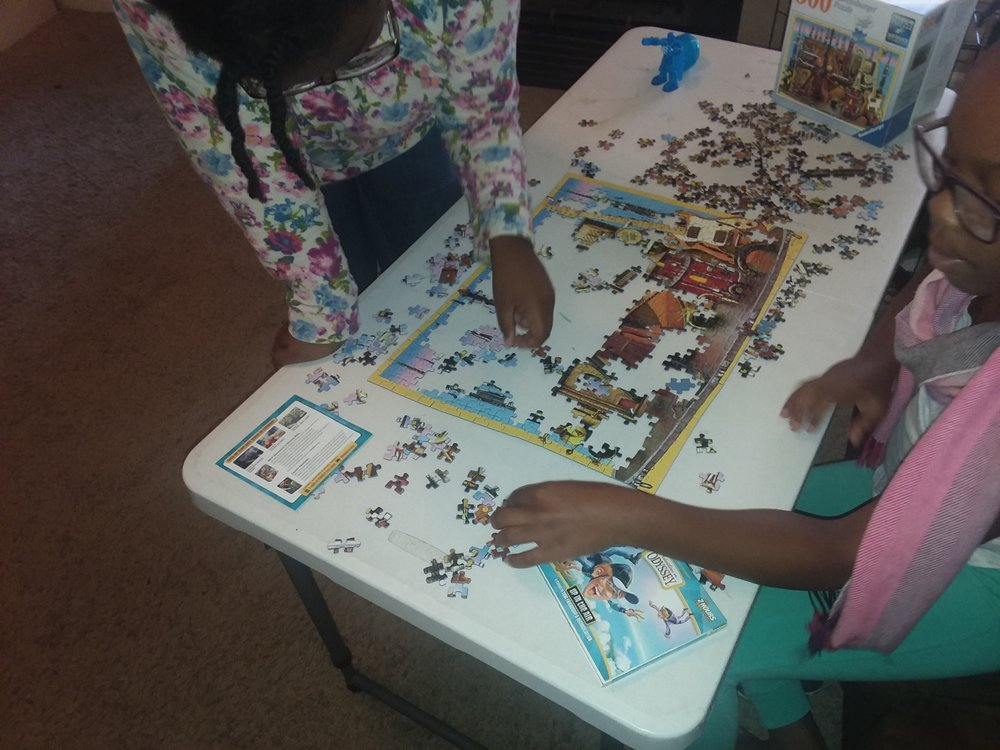 Puzzles and a good story = memorable pastime