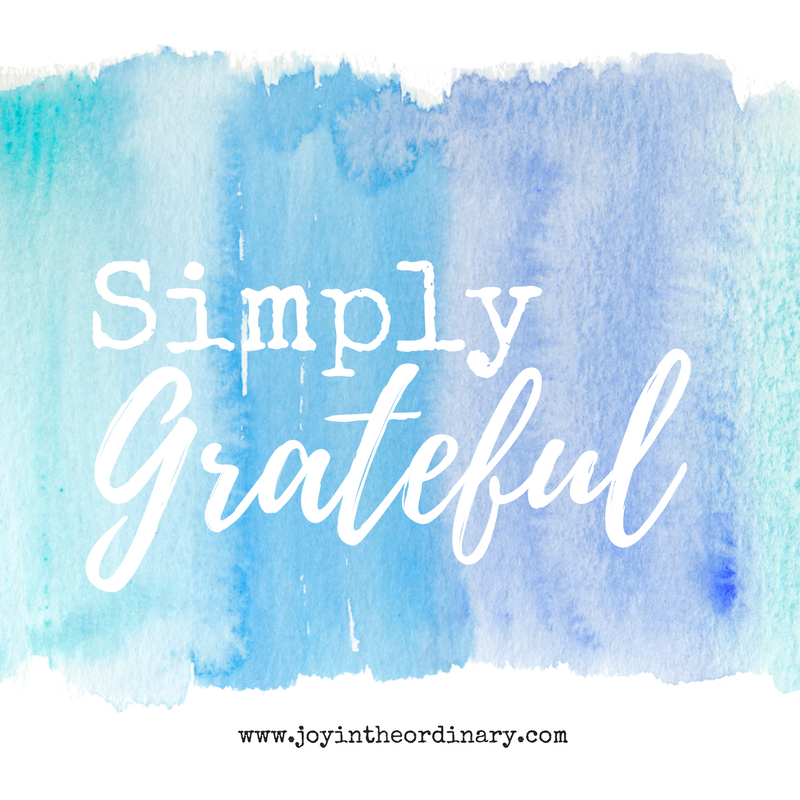 Thoughts about gratefulness