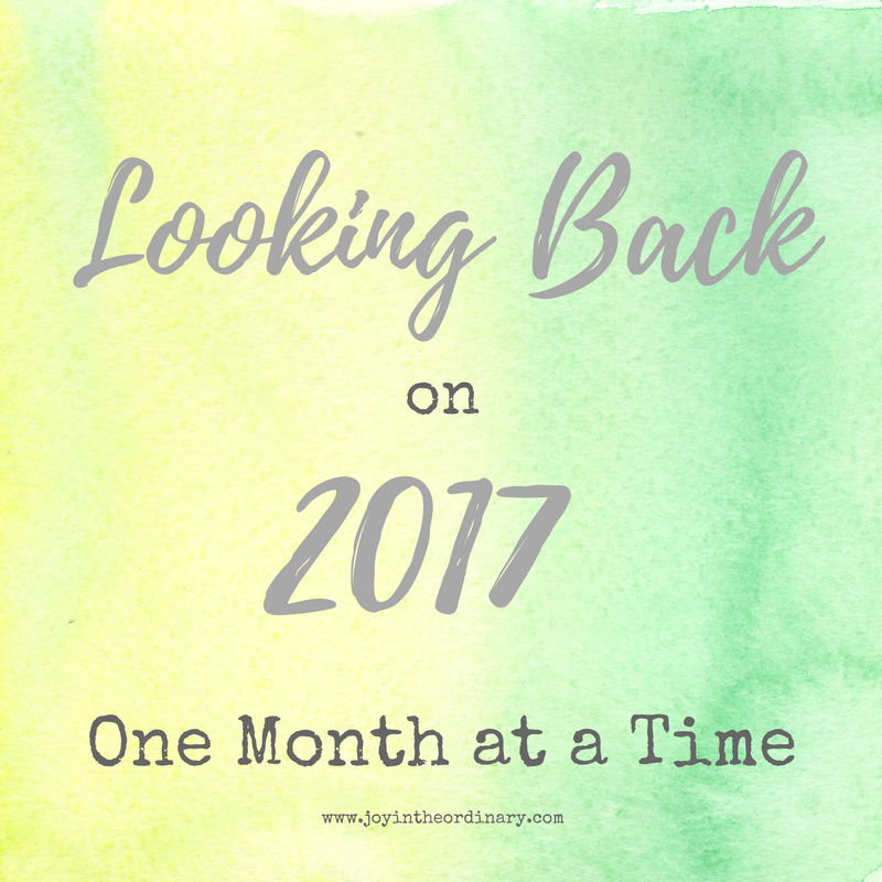 2017 Reflections from Latonya at Joy in the Ordinary