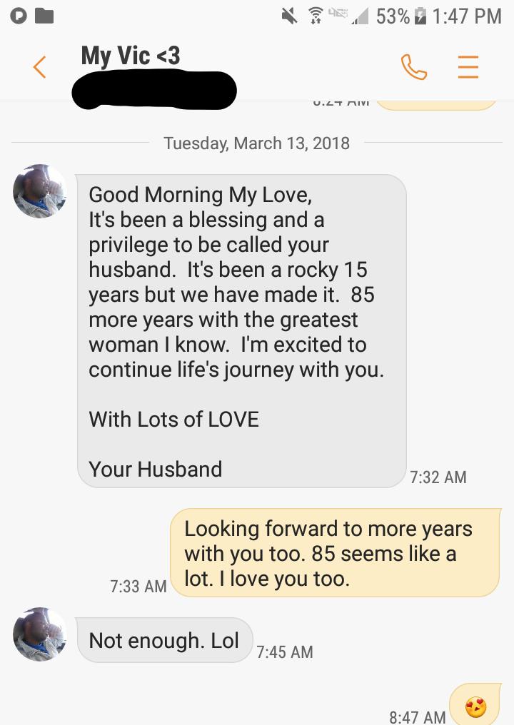 Anniversary text!