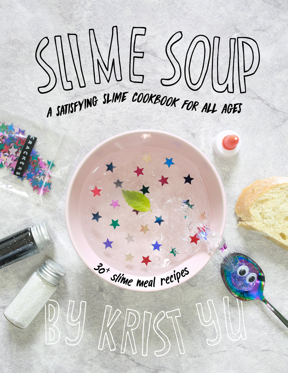 A Look Inside - Hungry? Got a craving for some ooey, gooey slime? Learn how to master the art of culinary slime making with YouTuber and slime Chef, Krist Soup.Included is a full menu of over 30 DIY slime meal recipes for Breakfast, Lunch, Dinner, and Dessert. Each recipe comes with step by step instructions and guided images to help relieve stress, enhance creativity, and bring some serious satisfaction to the brain and soul.