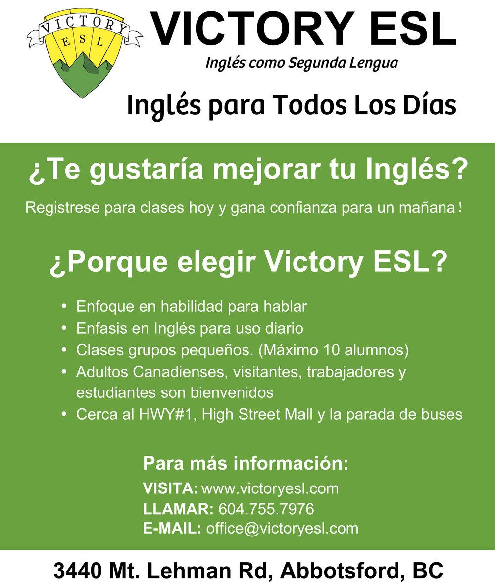 Victory ESL - Spanish