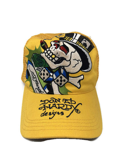 ED HARDY TRUCKER HAT. 8A9E0922-F34A-4CA7-A05D-F83BE123BD67.jpg 7332629101e