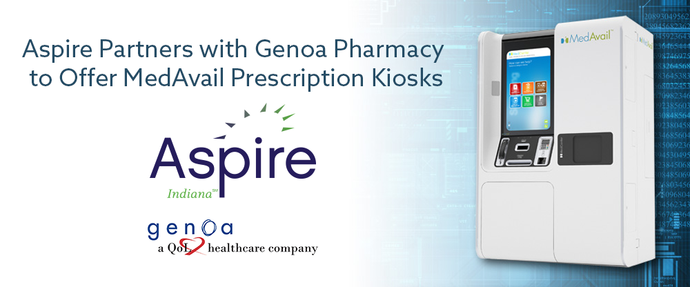 Aspire's new Pharmacy Kiosk is located at our Willowbrook location in Indianapolis, IN.