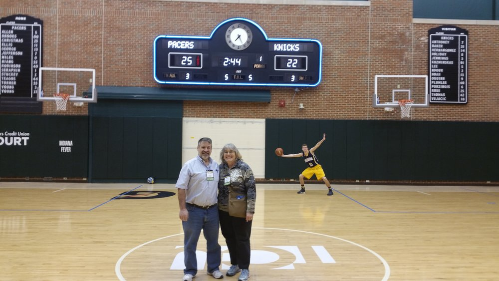 """As a therapist in Anderson I encourage clients and co-workers to take care of themselves by getting out and having some fun. The Pacers game was a fun night out with free VIP parking, free pro game tickets, and a free VIP tour. We felt like Royalty. Thanks again for a time to relax, kick back and have some fun for a night."" -- Karen Cummins and her guest."