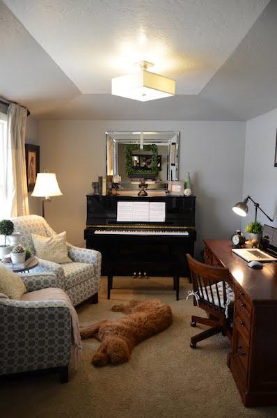 Alisa's front room
