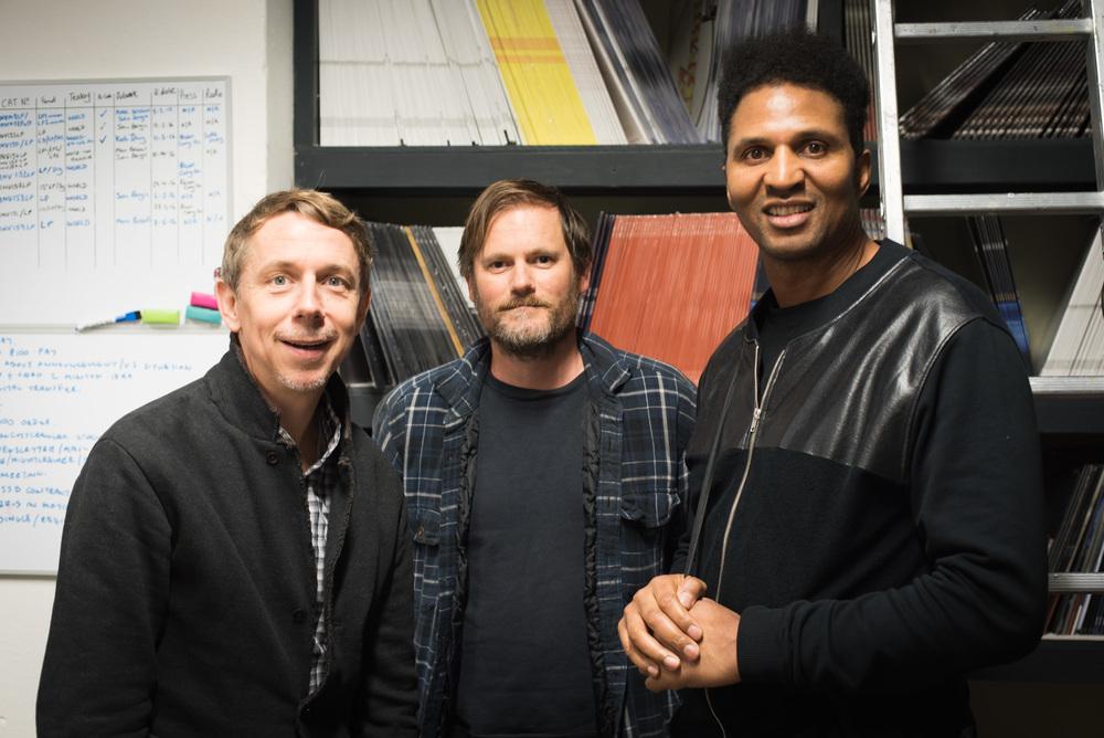 Peterson, Geoff Barrow (of Portishead), and DJ Krust