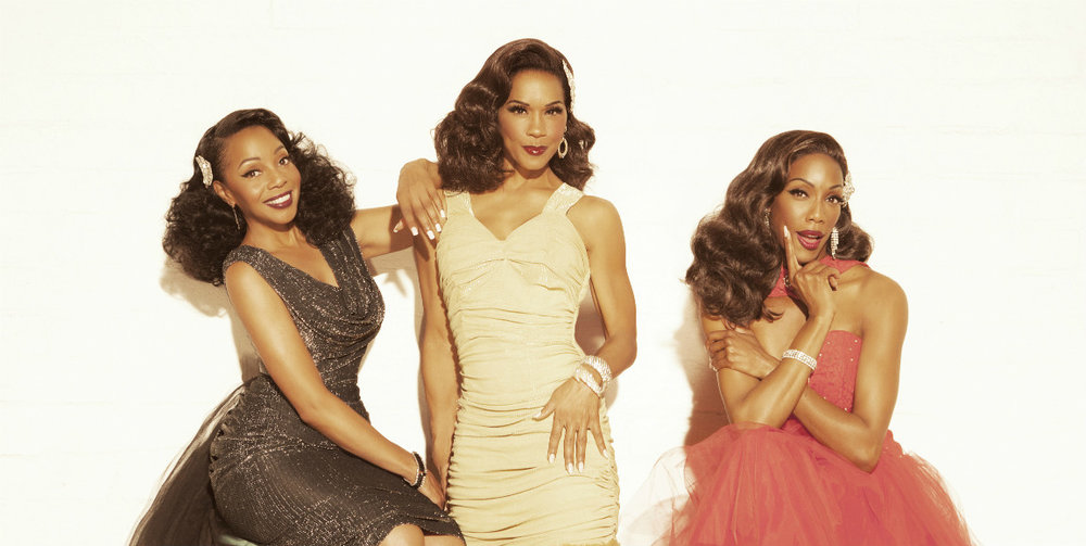 Pictured (L-R): Terry Ellis, Cindy Herron-Braggs, Rhona Bennett