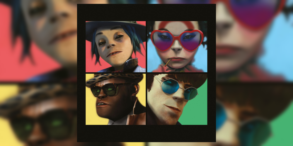 Gorillaz' new album Humanz arrives in stores April 28th