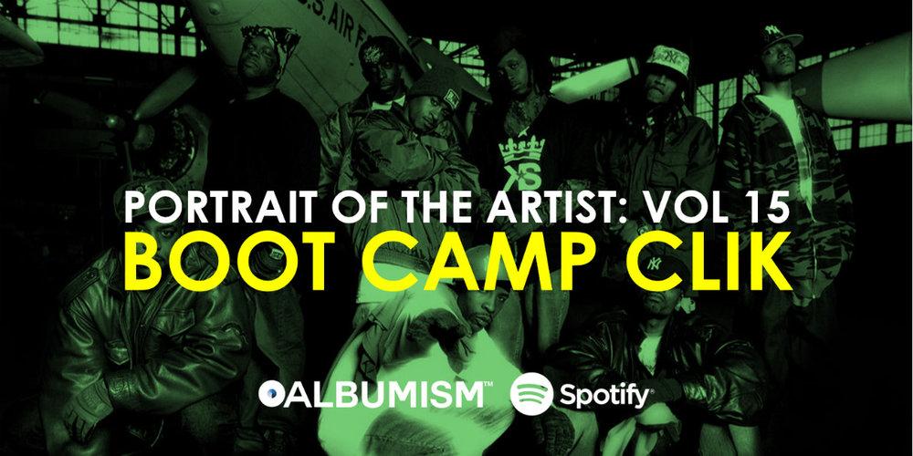 Playlist Portrait Of The Artist Volume 15 Boot Camp Clik