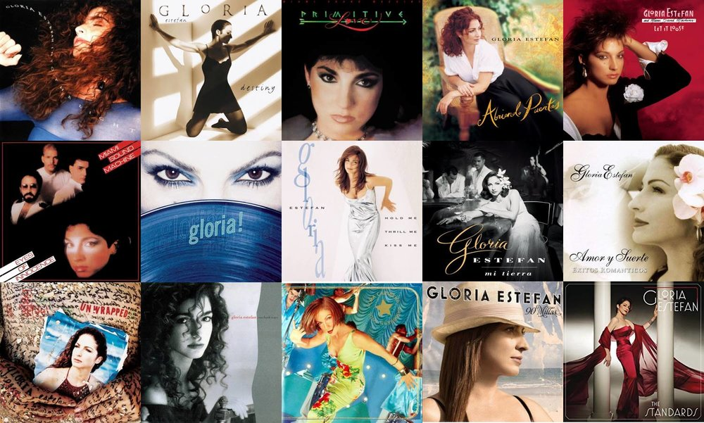 Image result for singer gloria estefan albums