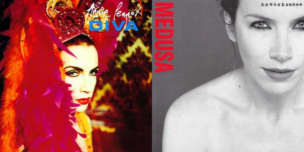 Welcome back wax vinyl reissues of annie lennox s diva - Annie lennox diva album cover ...