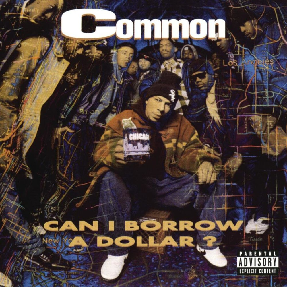 COMMON | 'Can I Borrow A Dollar?' 2xLP