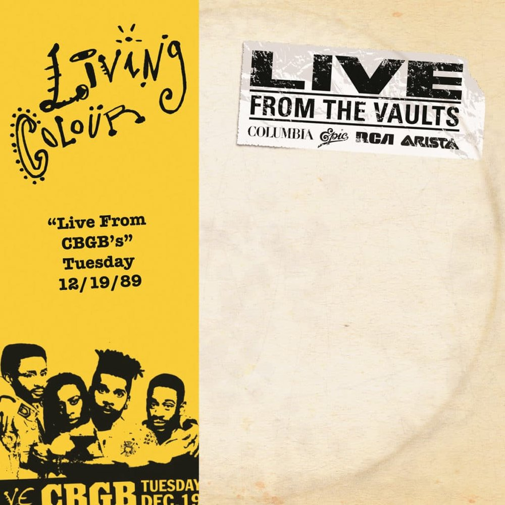 LIVING COLOUR | 'Live at CBGB's 12.19.89' 2xLP