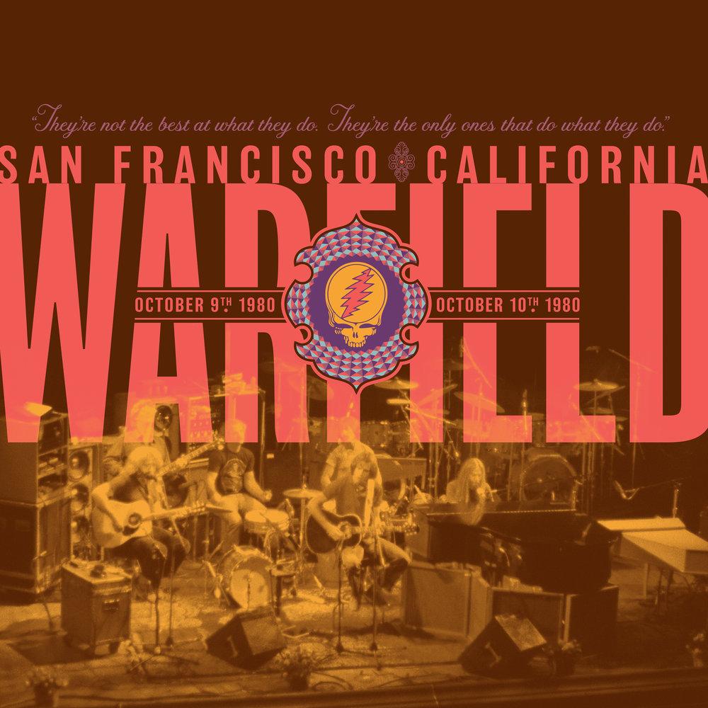 GRATEFUL DEAD | 'The Warfield, San Francisco, CA 10/9/80 & 10/10/80'