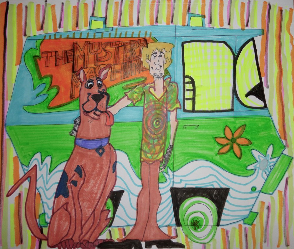 Shaggy, Scoob and the Shagadelic Mystery Machine
