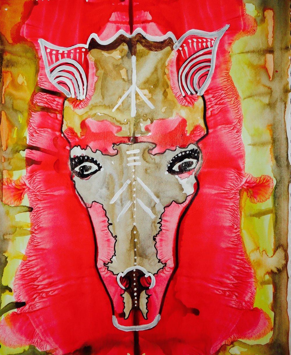Rorschach Horse
