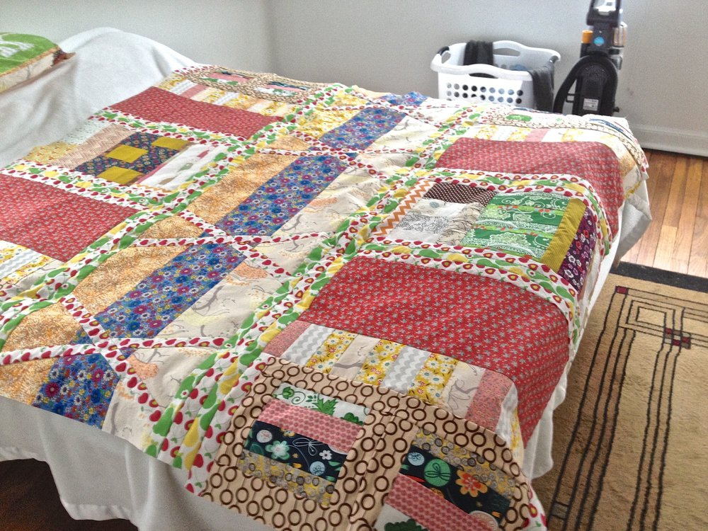 English Garden Quilt by Kathryn Sturges