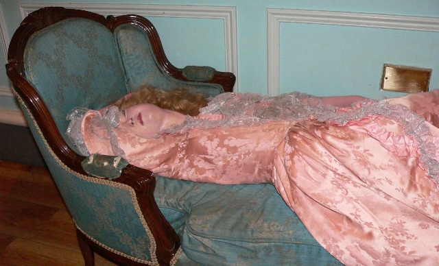 Sleeping Beauty, sculpted by Philippe Curtius, 1763