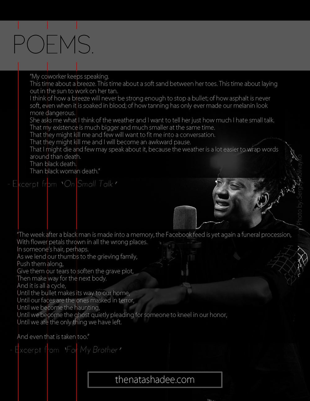 Spoken Word Artist/Poetry EPK 3